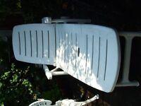 Garden sun lounger folding recliner