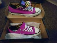 Brand new with tags Converse size 5. £35 ONO