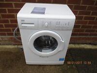 Washing machine.. 1200 spin 6KG Beko Washing machine,Model 6120W used 3 times