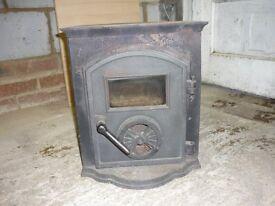 Cast Iron Antique Burner - Beautiful detail
