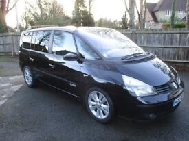 2.2 dci, Dynamique, 6-speed manual, Black, 2005, excellent condition, FSH, owned for 12 years