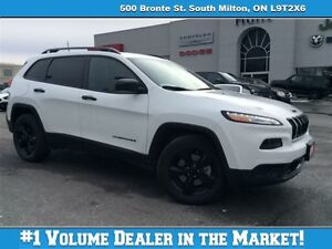 2016 Jeep Cherokee SPORT, BLUETOOTH, BLACK RIMS, 3, 2L & MORE!!!