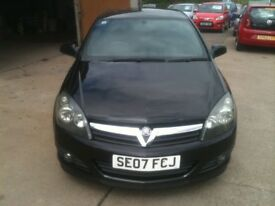 07 PLATE VAUXHALL ASTRA 1.4 SXI 3DR SPORTS HATCH 55000MILES 1 OWNER FSH £2975