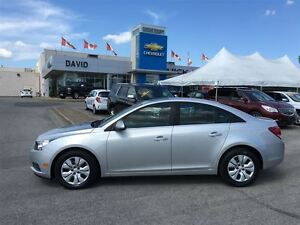 2012 Chevrolet Cruze LT Turbo w/1SA HUBCAPS, LOCAL TRADE!!