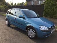 Vauxhall Corsa 1.2i Club 16v 5dr - only 58k with FSH !