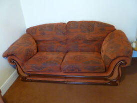 SOFA - 3-seater, superb condition, must be seen - buyer collects