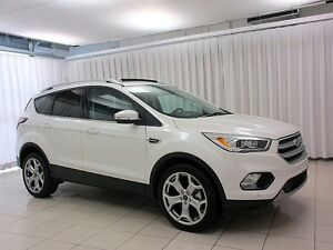 2017 Ford Escape TITANIUM 4WD SUV w/ Leather Interior, Navigatio