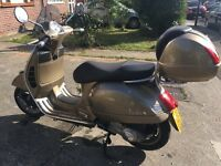Vespa gts 125 bronze 2011 low mileage