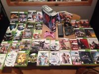 Xbox 360 250gb Console Huge Bundle 27 Top Games Ultimate Gamer Package