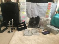 Jewellery making job lot, beads, charms, findings and tools
