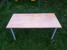 Ikea solid and heavy Dinning Table. In excellent condition
