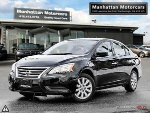 2015 NISSAN SENTRA S AUTOMATIC - PHONE 1 OWNER FACTORY WARRANTY