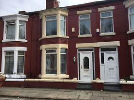Ennismore Road L13 - 3 bed modernised house to let