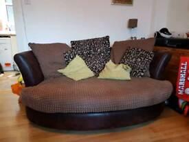 DFS Cuddler couch