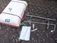 Plastimo Transocean 4 man canister life raft. Just serviced including cradle