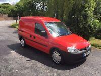 NO VAT - Vauxhall Combo Crew Van 1.7 cdti - only 53000 miles - new MOT with no advisories - a beauty
