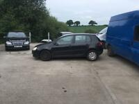 BREAKING VOLKSWAGEN GOLF MK5 1.9 TDI FOR PARTS
