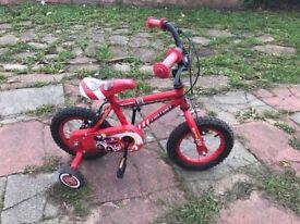 SMALL CHILDS / KIDDIES BOYS BIKE 1st SIZE 2- 4 YRS £15