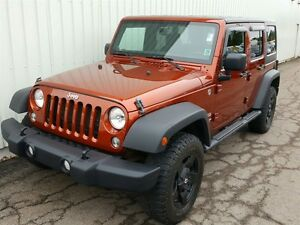 2014 Jeep WRANGLER UNLIMITED Sport V6/4X4/AUTO/AIR/BLUETOOTH