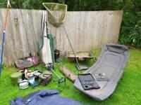 2 ROD Carp Setup and Course Fishing Gear