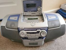 CD Radio Cassette Player (Boombox)
