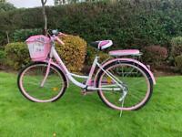 "Stunning Pink 26"" Ladies Bicycle with Locks"