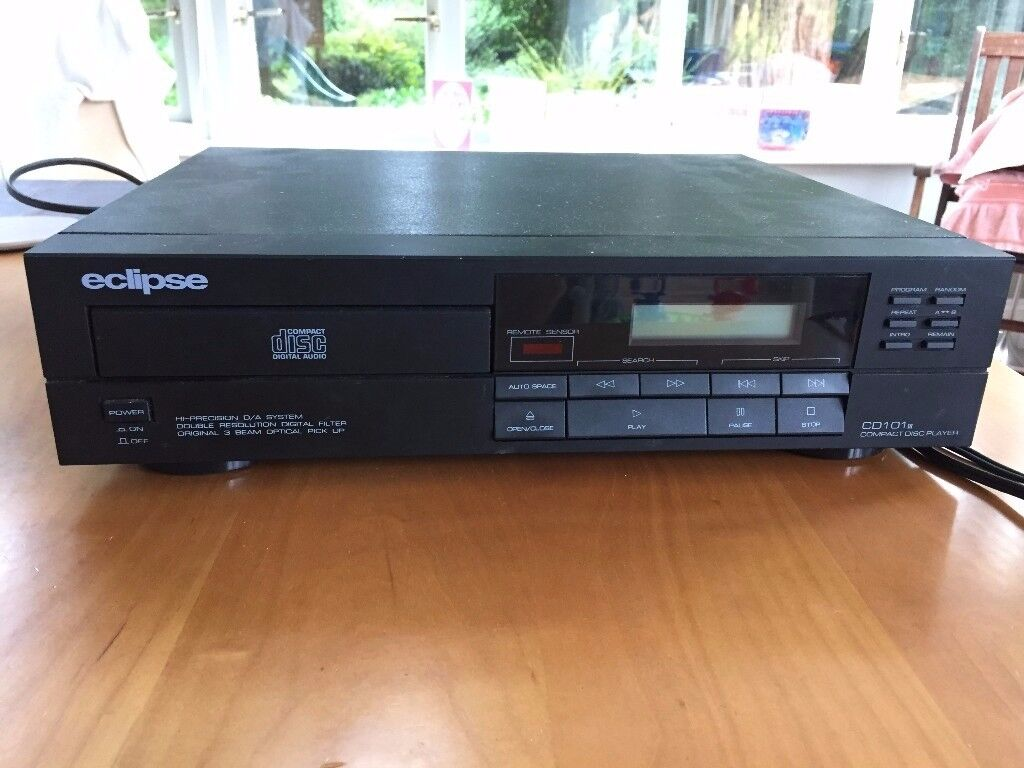 Eclipse CD player