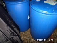 Plastic barrel in good condition ,,£8 each just 1 left ,,calls only ,,,no text