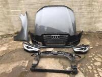 Audi A6 2012 2013 2014 Genuine front bumper + xenon headlights + bonnet + wing + panel