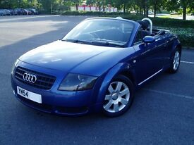 2004 Audi TT 1.8T Roadster. Black Leather. Cambelt Done. Service History. Mot June 17. Convertible.