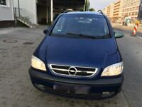 Left hand drive Europe LHD version Opel Vauxhall Zafira A 2004 2.2 Diesel 7-Seater MPV 91000ml