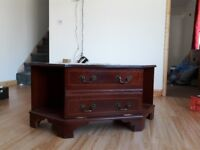 Free solid TV Stand.