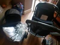Mother xpedior pram and car seat