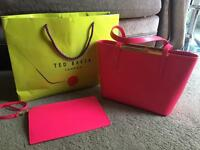 Brand new without tags pink ted baker bag