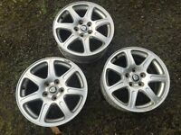 "3 x 16"" jaguar wheels (x type)"