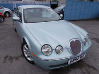 STUNNING S TYPE JAG 2.7 TD SE FULL LEATHER DRIVES A1 ANY TRIAL ,NEW MOT FULL SERVICE WARRANTY !!