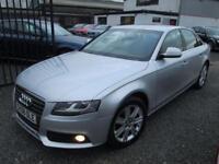 Audi A4 2.0 TDI 143 SE 4dr + 1 PREV OWNER + FULL SERVICE HISTORY INC CAMBELT DONE (silver) 2008