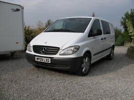 Mercedes Vito 120cdi Automatic with Dog Cages