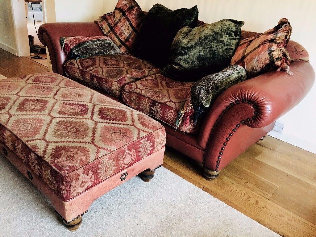 Tetrad Eastwood Sofa Footstool Leather Armchair