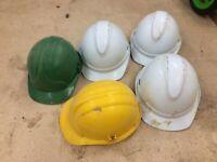 5 Hard Hats for dressing up, carnival float etc