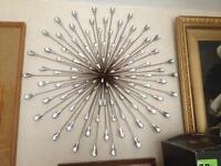 Spiral wall art