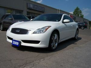 2009 Infiniti G37X Coupe AWD Leather Sunroof