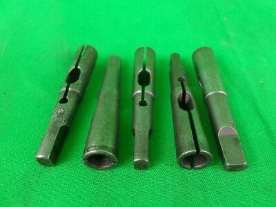 Lot Of 5 Pc1 0.323-0.321 Morse Taper Drill Chuck