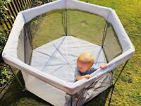All Stars Joy Baby Playpen, Foldable & Compact, Fitted Floor Mat