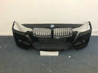 BMW 3 Series F30 M Sport Front Bumper Complete