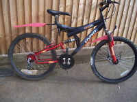 Dyno Ranger Mountain Bike approx age11 years plus