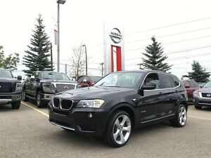 2013 BMW X3 xDrive28i LEATHER SUNROOF * 2 sets of wheels*