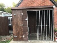 Dog kennel insulated