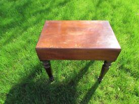 Victorian mahogany baby bath table