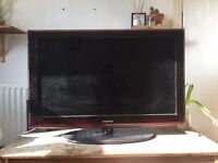 Samsung le40a656 40inch LCD tv with built in freeview and remote